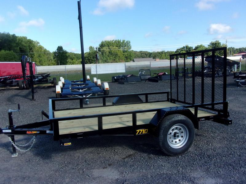 Doolittle Rally Sport 77x10 3K Single Axle Utility Trailer
