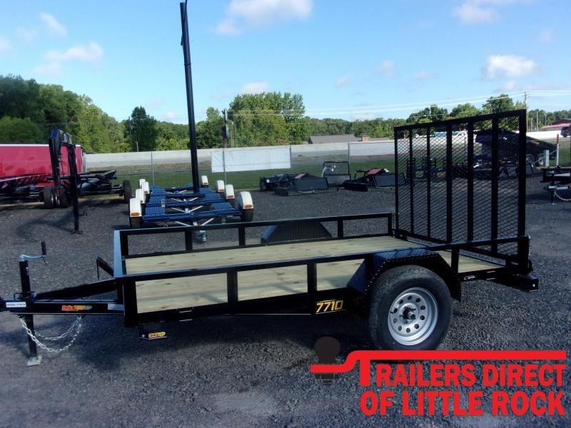 2021 Doolittle Trailer Mfg Rally Sport 770 Series 3K Single Axle Utility Trailer