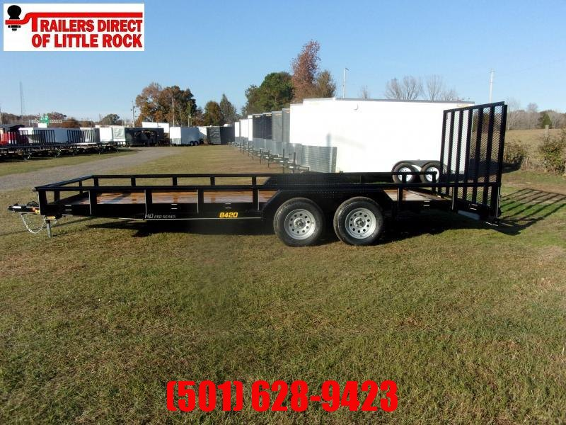 Doolittle 84x20 7K gvwr 5' ez lift gate dove tail