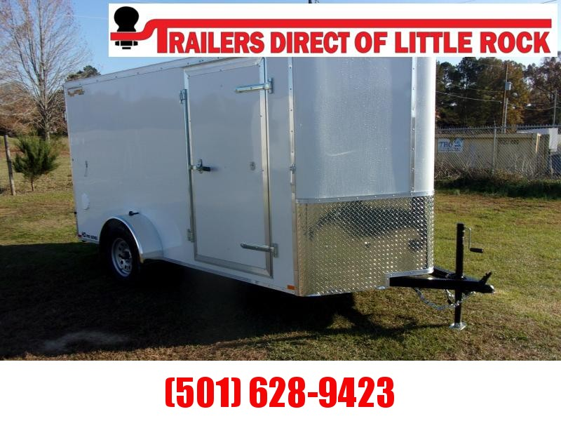 Doolittle 6x12 Bullitt  Enclosed  Barn Door