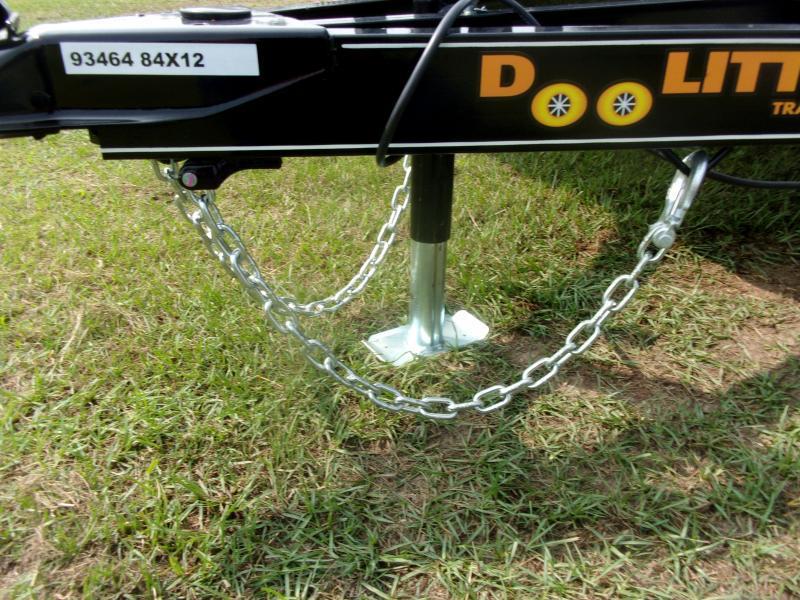 Doolittle 84x12 Single Axle  Utility Trailer 5' EZ-LIFT GATE