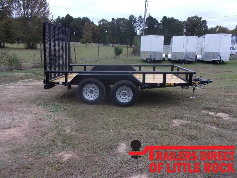 2021 Doolittle 84X12 Tandem Axle 7K GVWR Utility Trailer