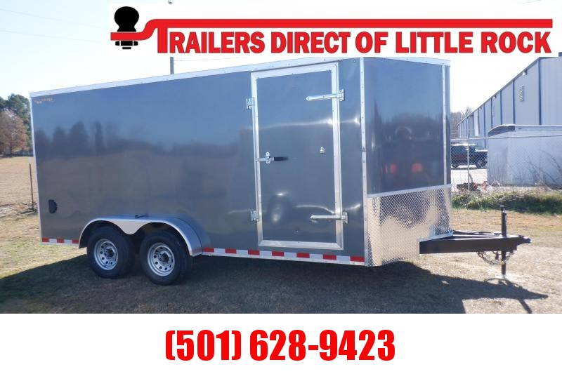 Doolittle  Bullitt 7X16 10K GVWR Enclosed REAR RAMP