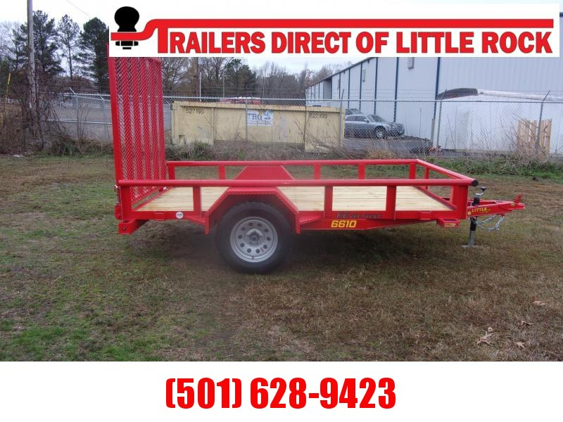 Doolittle 66X10 3K Utility Trailer EZ-STEPS 5' EZ-LIFT GATE