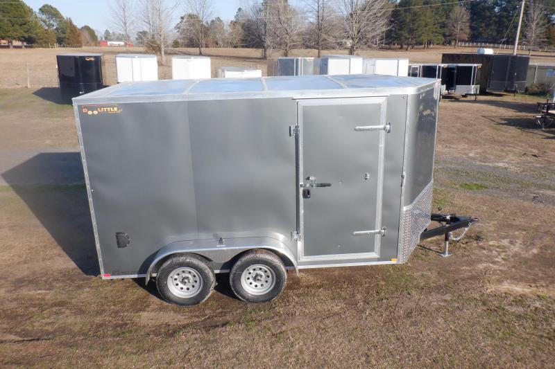 2021 Doolittle Trailer Mfg 7x14 BL4825 Enclosed Cargo Trailer