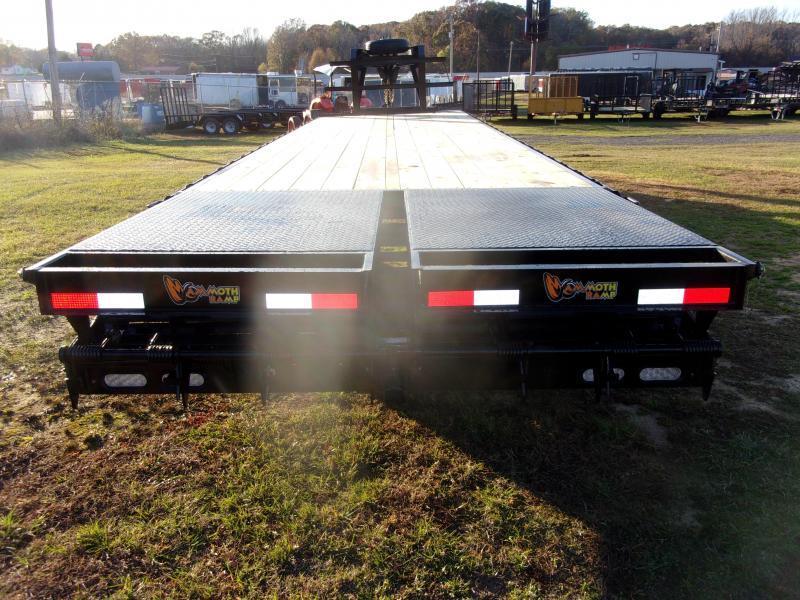 Doolittle Brute Force 102x32  22K gvwr mammoth ramps  Equipment Trailer