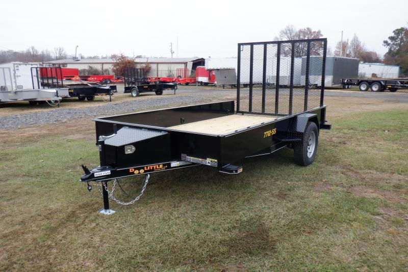 Doolittle SS 77X12 Utility Trailer W/ TOOL BOX 5'EZ-LIFT GATE