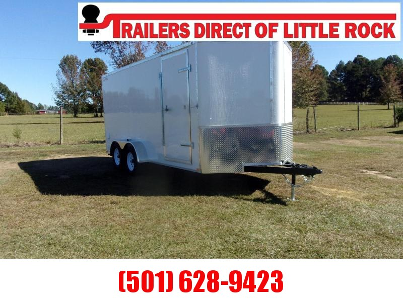 Doolittle 7x16 BULLITT 7K GVWR Enclosed Cargo RAMP DOOR