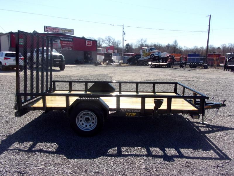 2020 Doolittle Trailer Mfg 77x12 Single Axle 3K Utility Trailer
