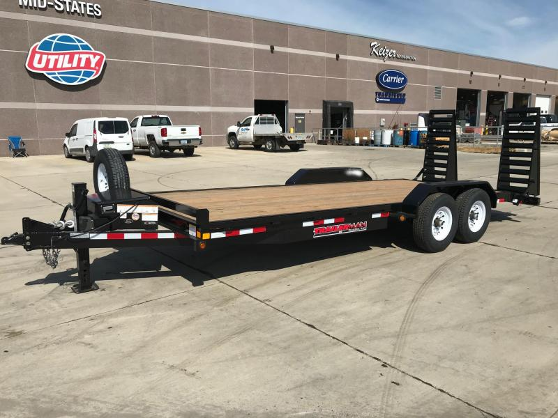2020 Trailerman Trailers Inc. Flat Bed