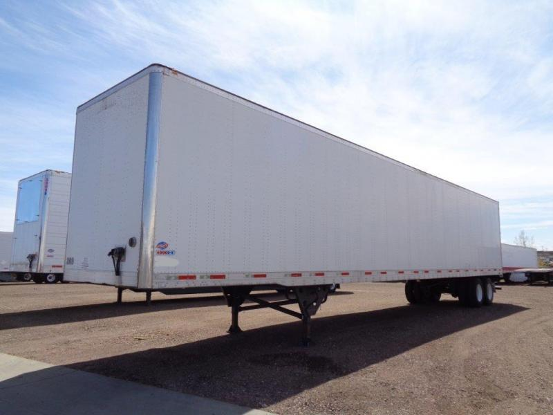 2008 Utility Trailer Manufacturing Company Dry Van