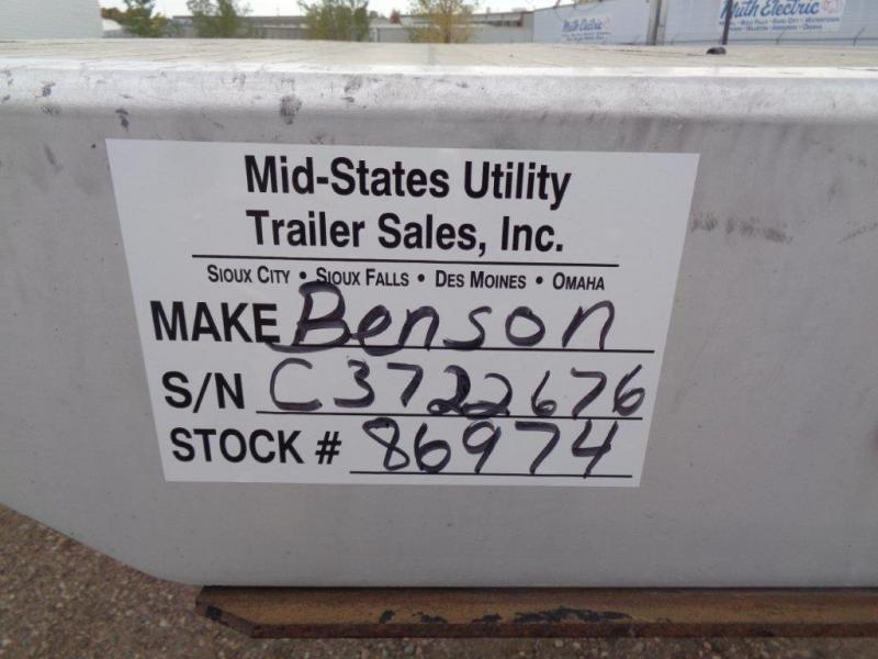 2012 Benson Flat Bed