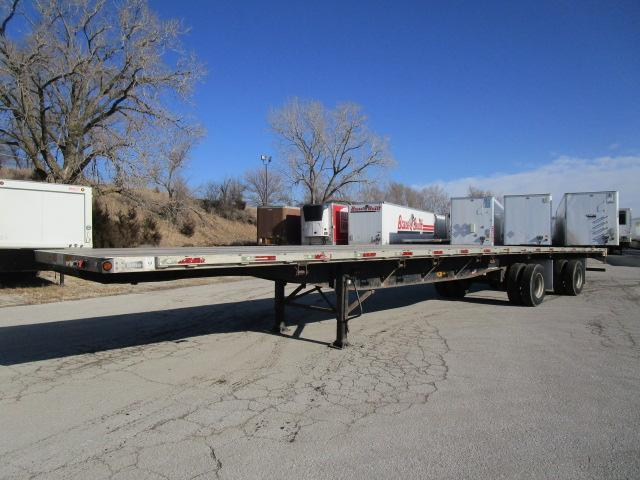2007 Utility Trailer Manufacturing Company Flat Bed