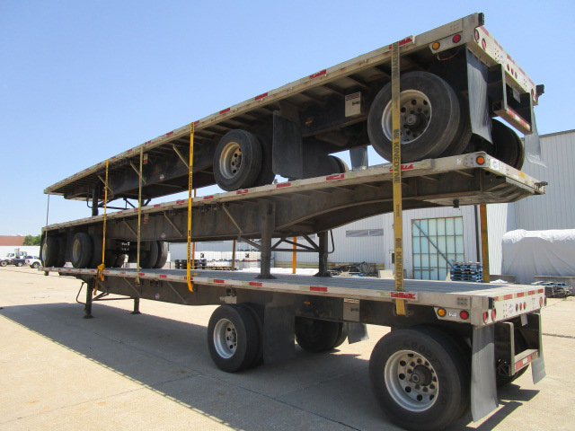 2002 Utility Trailer Manufacturing Company Flat Bed