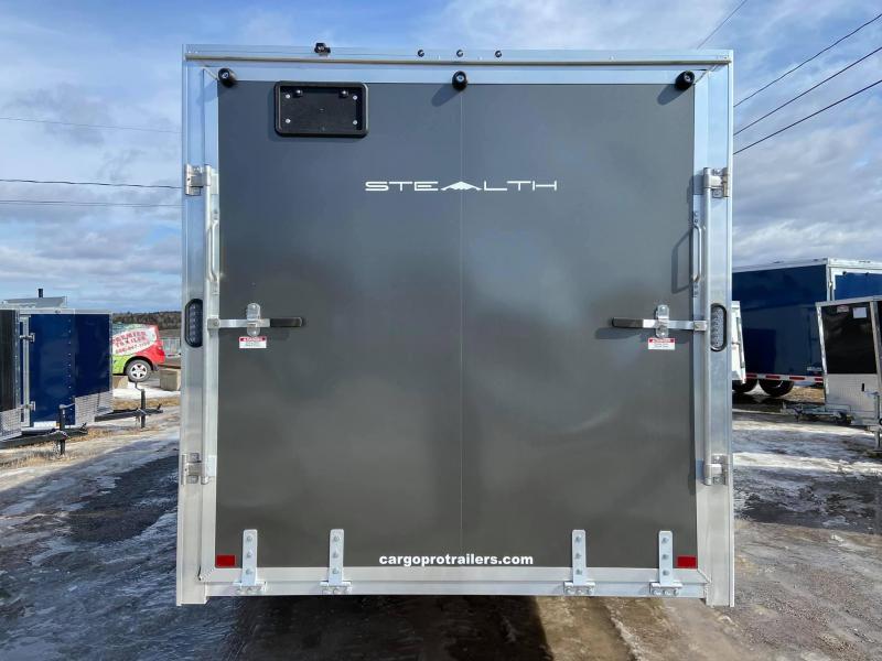2020 Alcom-Stealth 2020 Alcom Stealth 7x16 Lite Enclosed Cargo Trailer