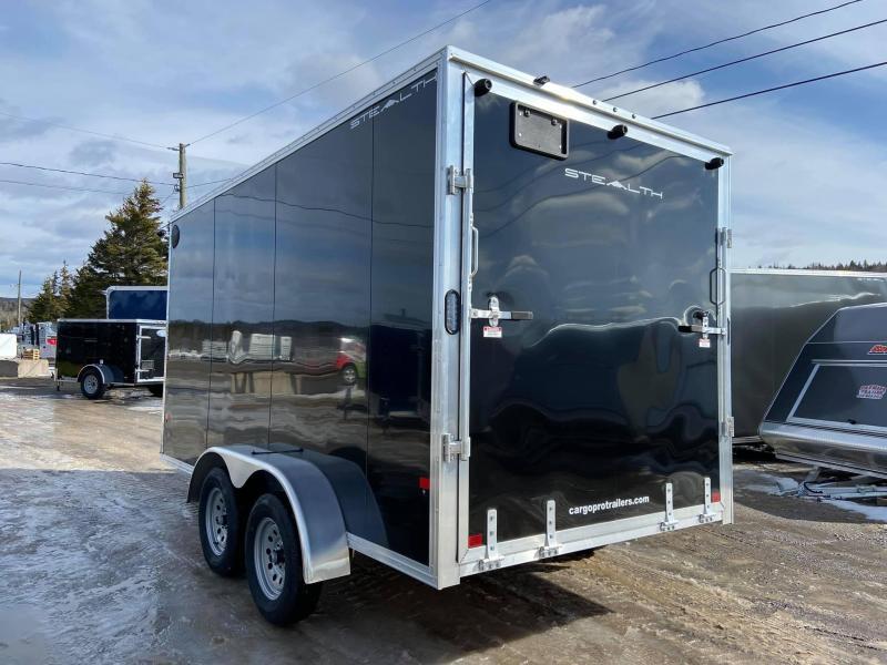 2020 Alcom Stealth 7x14 Lite Enclosed Cargo Trailer