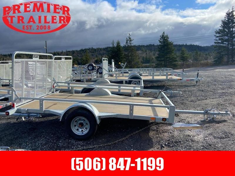 2021 N&N Galvanized Utility Trailer 66x123