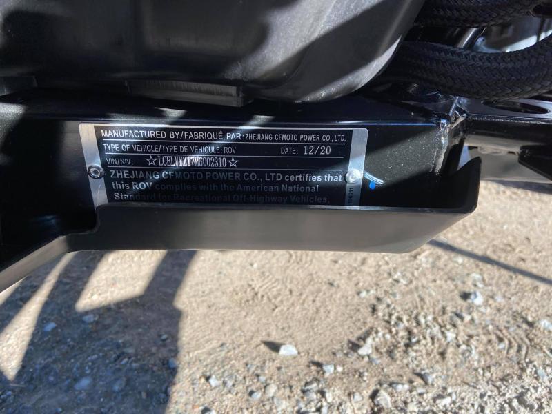2021 CF MOTO ZForce 800 EX EPS LX Sport Side-by-Side