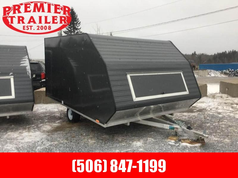2021 Lightning Trailers 101x11 Hybrid Snowmobile Trailer