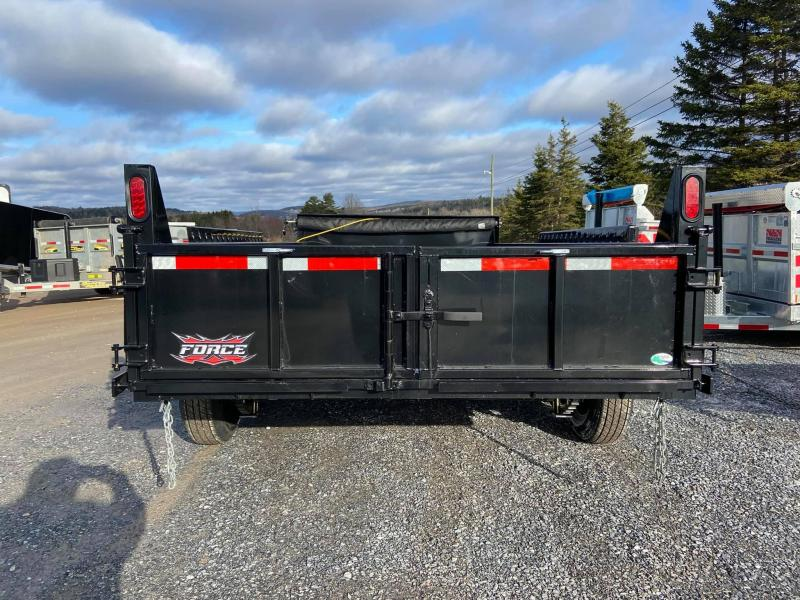2021 Forest River Inc. 7'x14' Force Dump Trailer