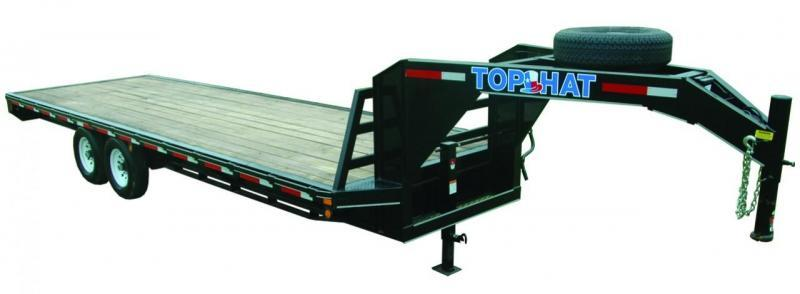 2021 TOP HAT 24X102 GOOSENECK DECK OVER 14K