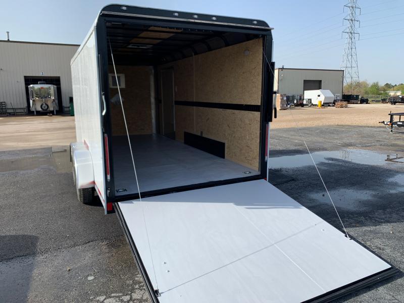 2021 Cargo Craft 7X16X6.6 RAMPDOOR 10.4K