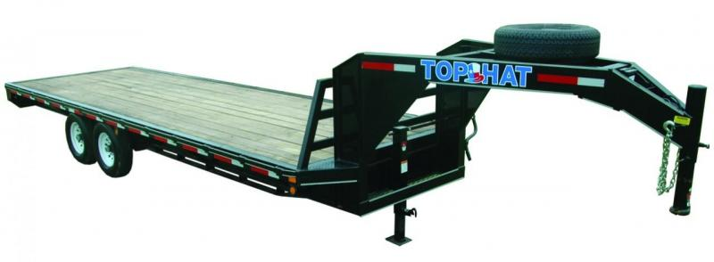 2018 TOP HAT 24X102 GOOSENECK DECK OVER 14K