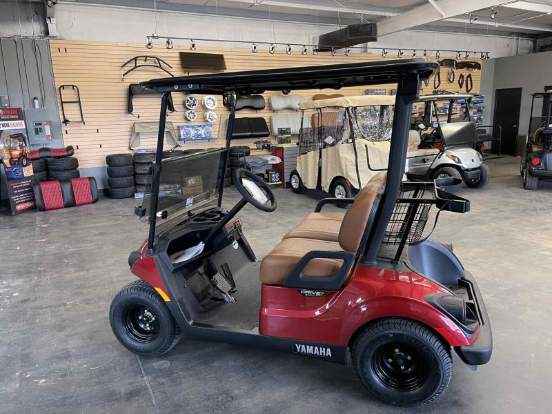 2021 Yamaha Drive 2 EFI Gas Golf Cart
