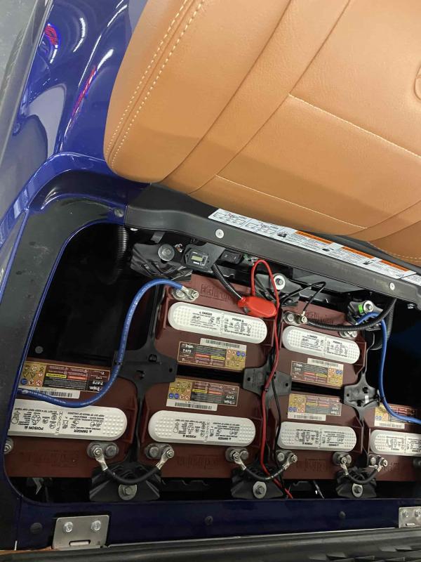 2021 Yamaha Drive 2 A/C Electric Golf Cart