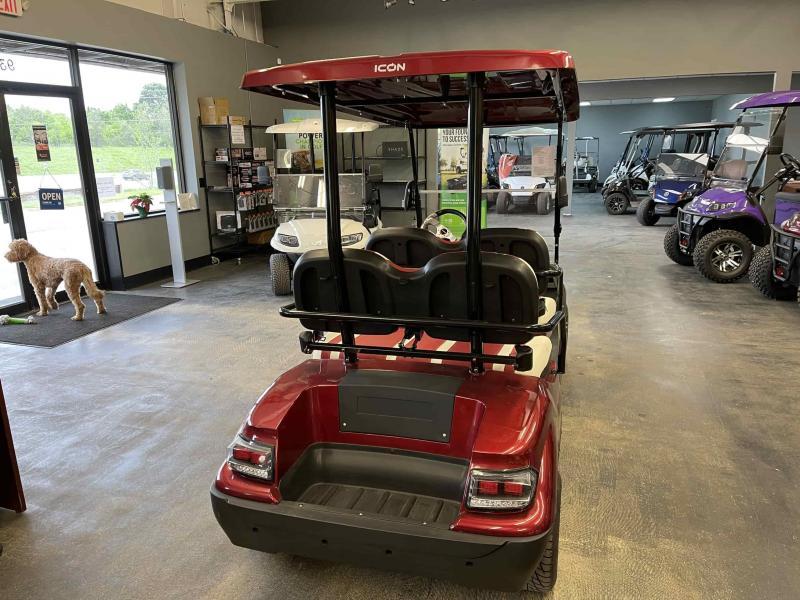 2021 ICON i40F Golf Cart