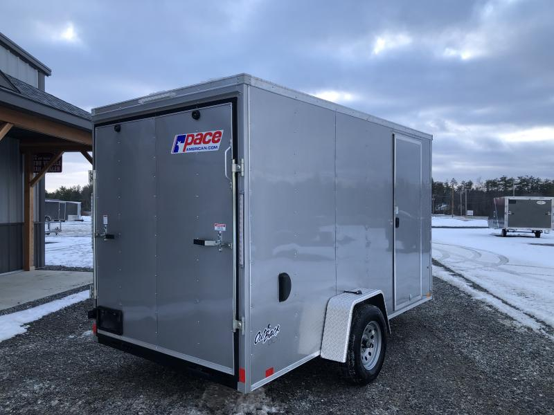 2022 Pace American 6X12 OUTBACK CARGO DLX Enclosed Cargo Trailer