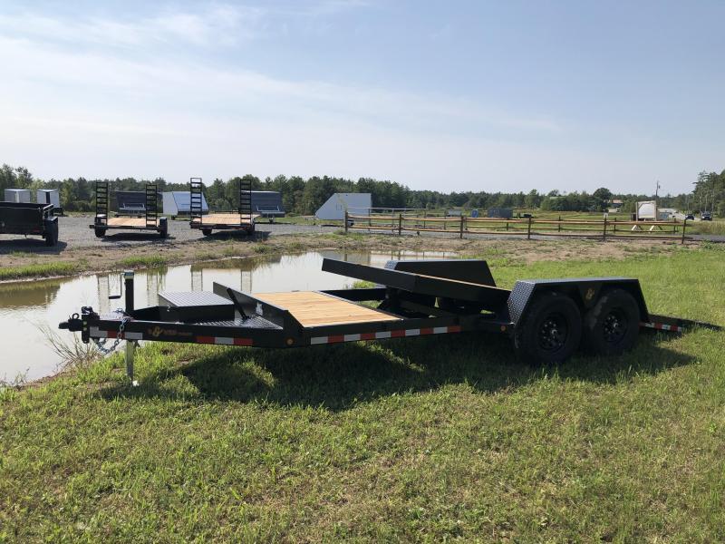 2021 BWISE TG20-15K Equipment Trailer