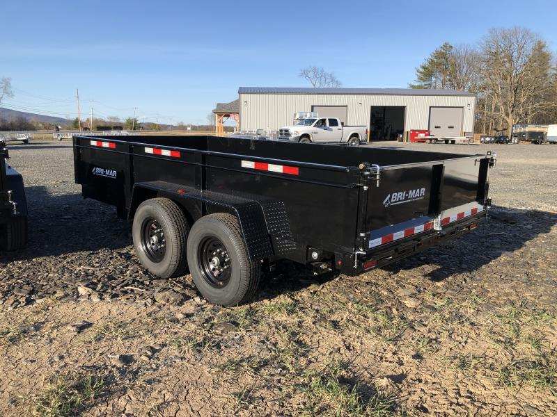 2021 Bri-Mar DT714LP-LE-14 Dump Trailer