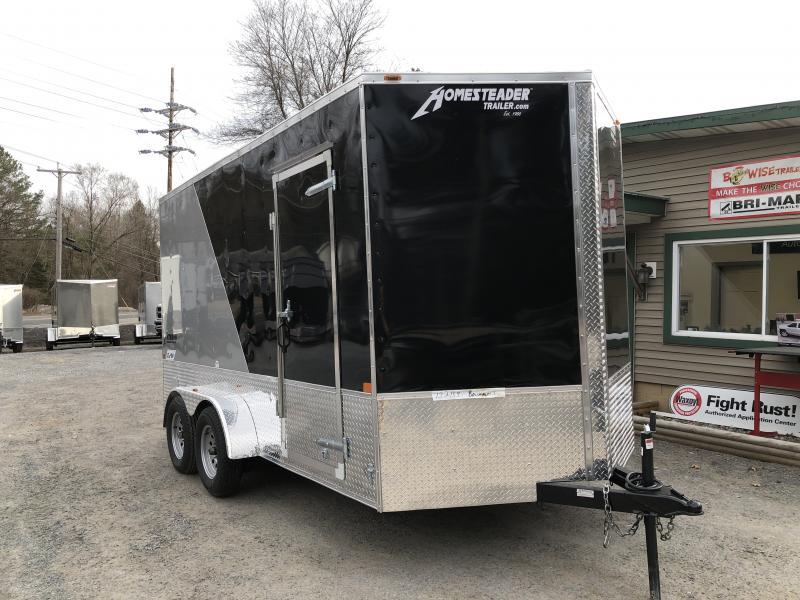 2019 Homesteader 714IT Enclosed Cargo Trailer