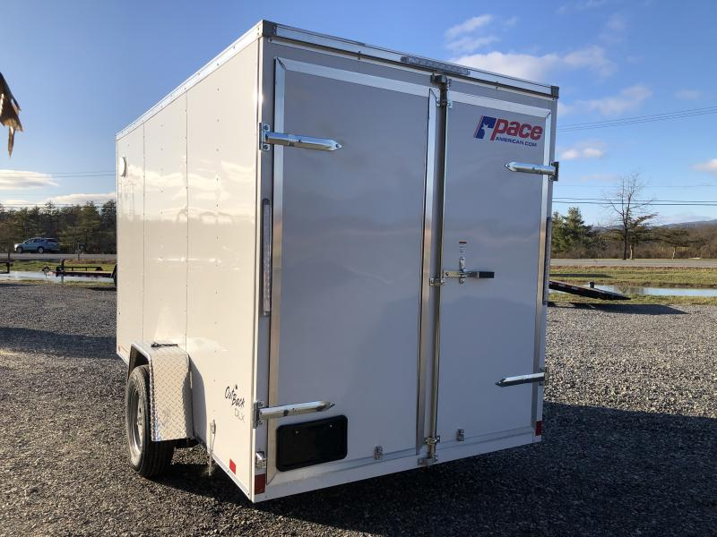 2021 Pace American 6X12 OUTBACK DLX Enclosed Cargo Trailer