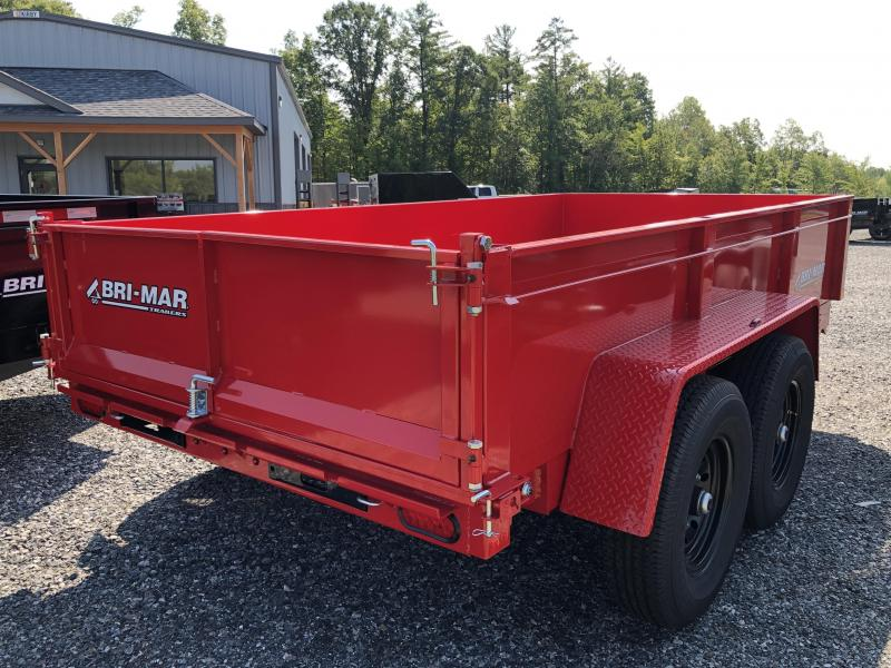 2021 Bri-Mar DT612LP-LE-12 Dump Trailer