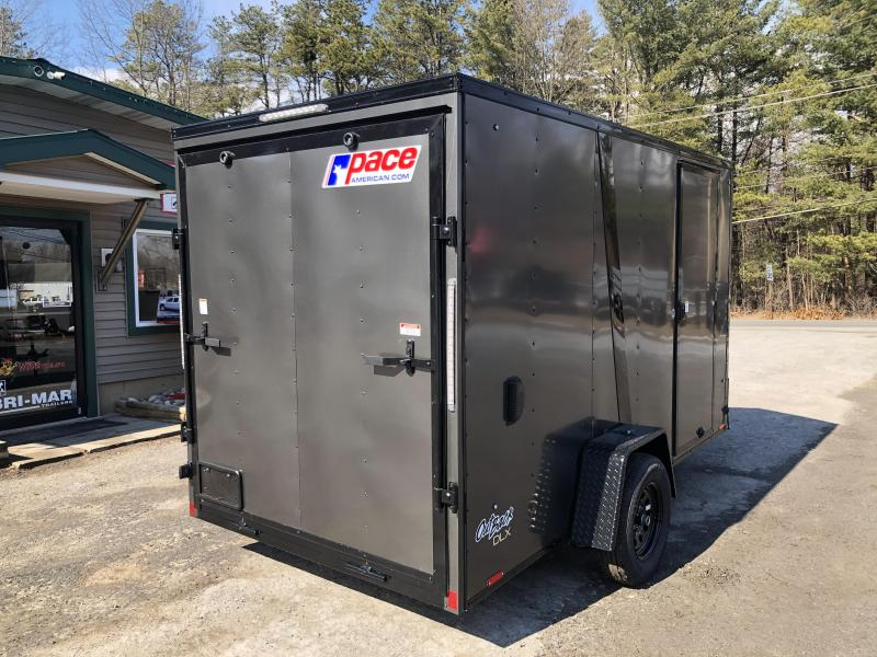 2021 Pace American OB6X12SI2 DLX Enclosed Cargo Trailer