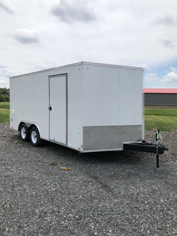 2022 Pace American 8.5X16 OUTBACK DLX Enclosed Cargo Trailer