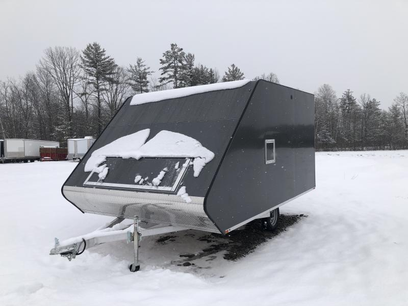 2021 Sport Haven AH1385 HYBRID Snowmobile Trailer