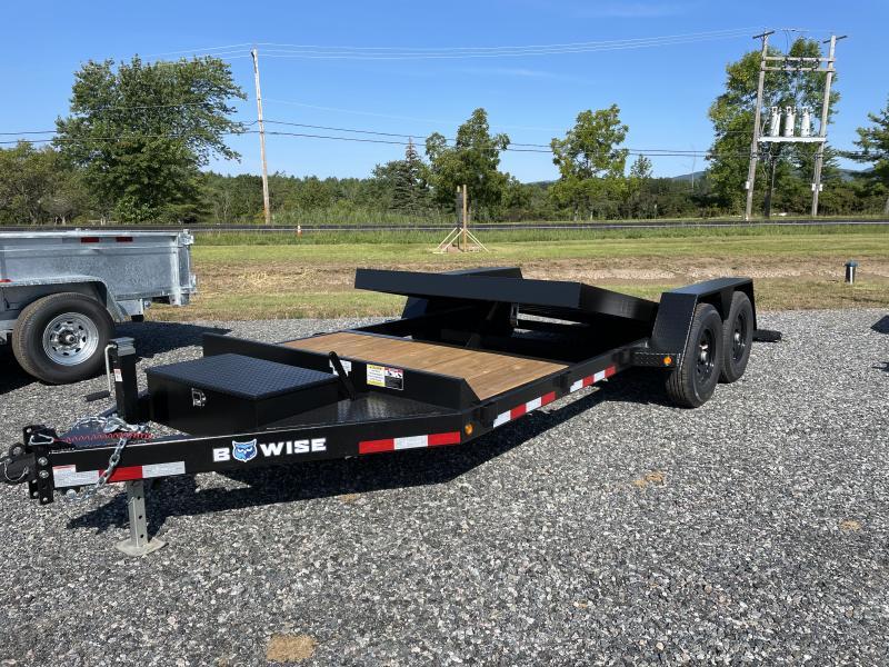 2022 BWISE TG20-15K Equipment Trailer