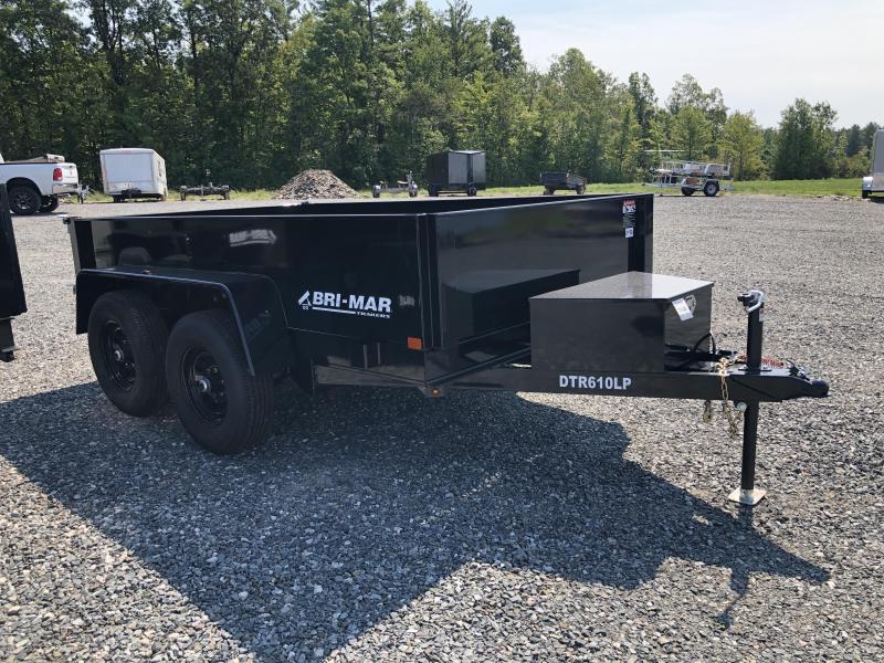 2021 Bri-Mar DTR610LP-10 Dump Trailer