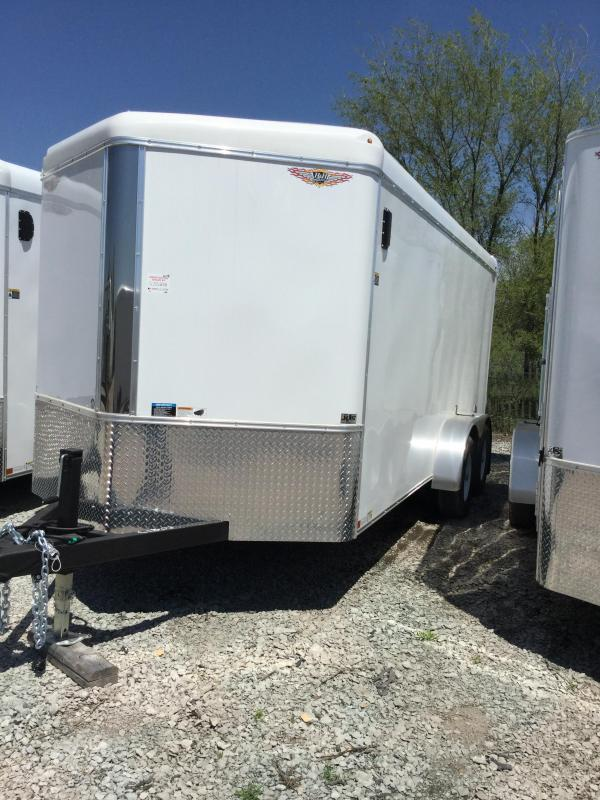 2020 H and H Trailer H8416TFTV-100 Enclosed Cargo Trailer