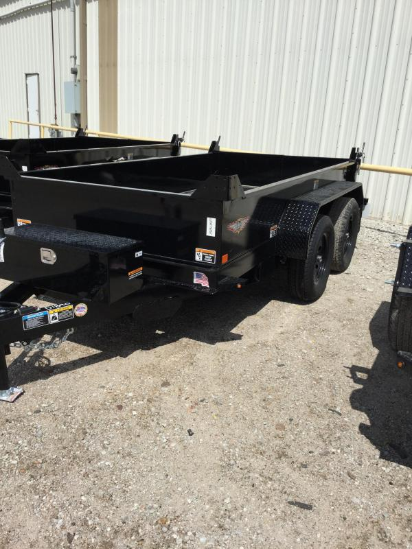 2021 H and H Trailer H621 Dump Trailer