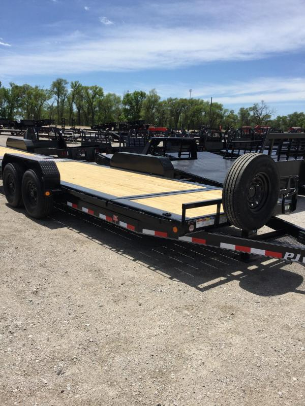 2020 PJ Trailers HD Equipment Tilt 6 in. Channel (TJ) Equipment Trailer