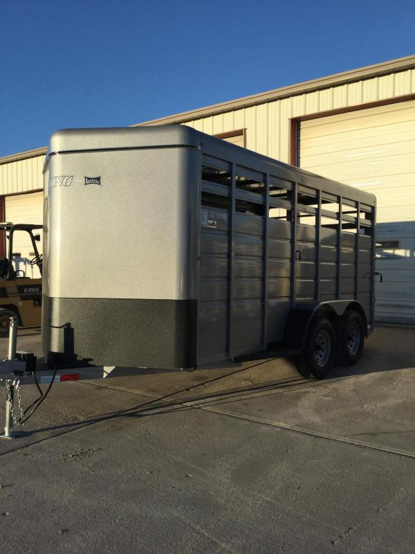 2021 Travalong Bumper Hitch Stock Trailer Livestock Trailer