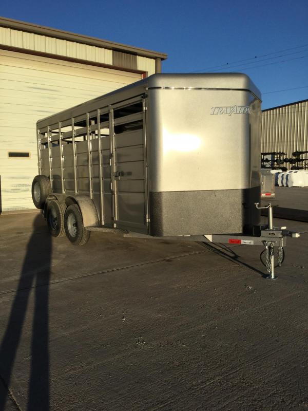 2021 Travalong Bumper Hitch Stock Trailer Livestock Trailer