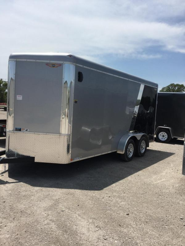 2020 H and H Trailer H8416TRTV-070 Enclosed Cargo Trailer