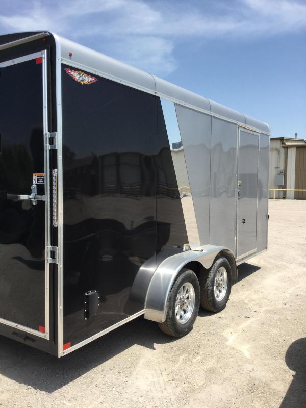 2020 H and H Trailer H8416TRTV-070 Enclosed Cargo Trailer