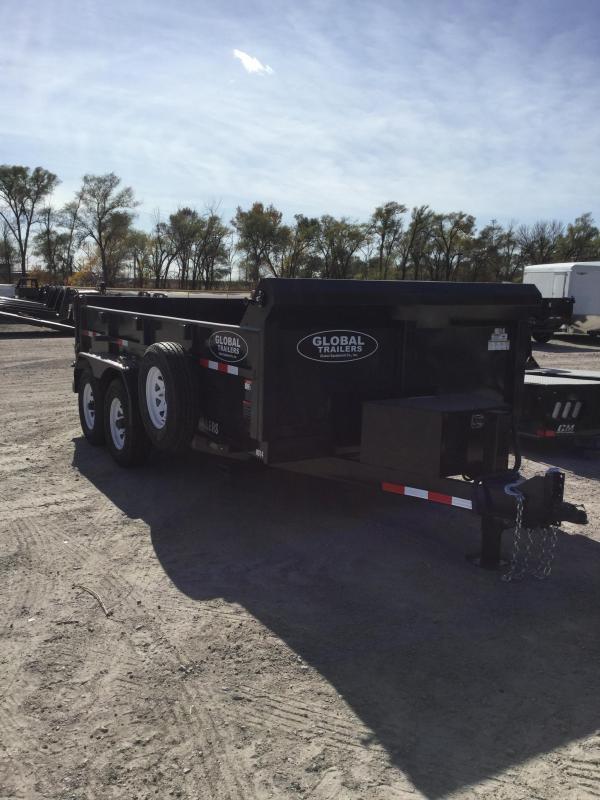 2021 Global Equipment Co. GDTHD16 Dump Trailer