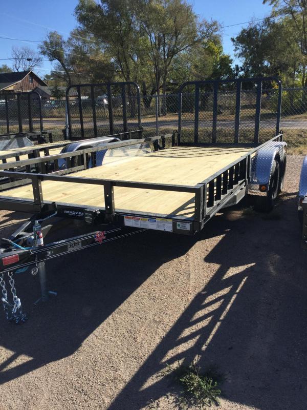2021 PJ Trailers 83 in. Tandem Axle Channel Utility (UL) Utility Trailer